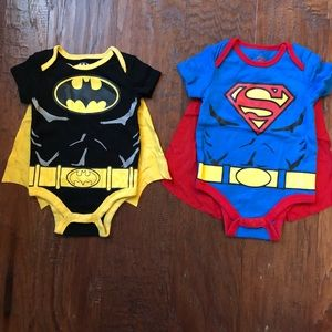 Baby DC COMICS Halloween outfits